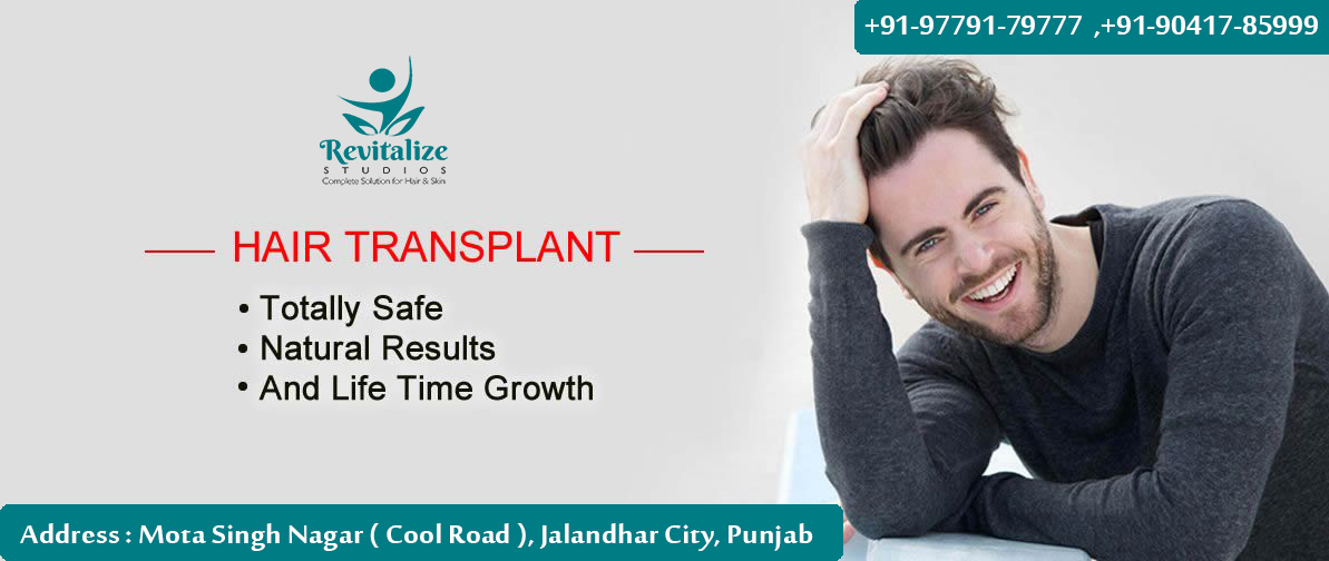 Hair Transplant in Pathankot Price, Hair Transplant in Pathankot, Hair Transplant Price, Revitalize Studios