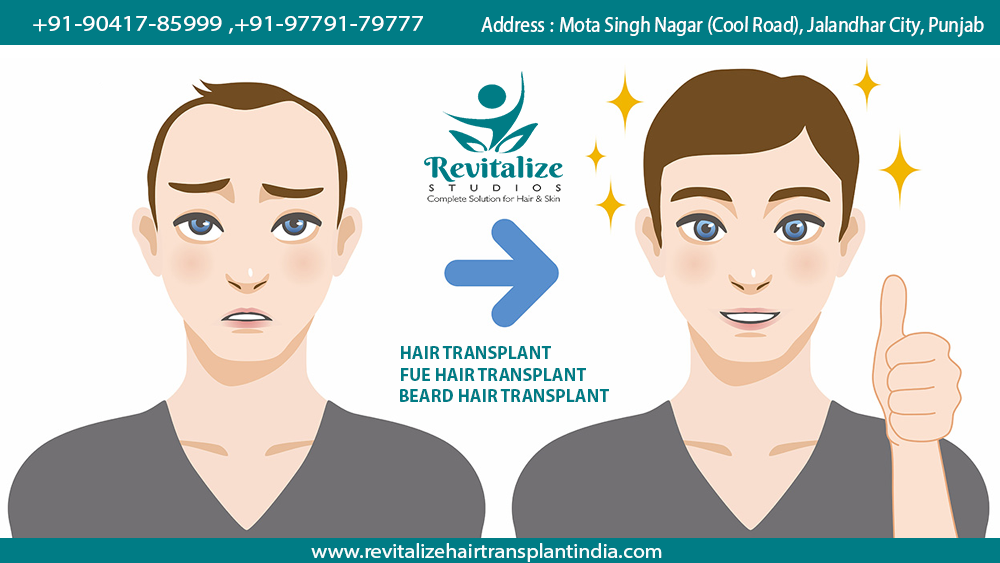 hair specialist in pathankot, hair specialist doctor in pathankot, hair transplant in pathankot punjab, hair transplant cost, hair transplant in jalandhar, revitalize studios